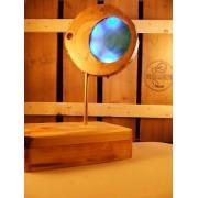 Natuurlijke houten lamp Woodlightz Design lamp