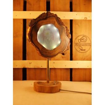 Lamp van acacia met ingegoten ledverlichting  | Woodlightz